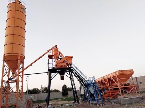 Купить мини бетонный завод