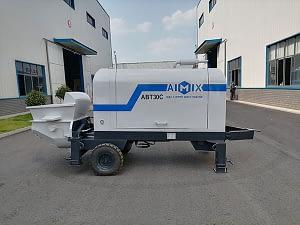 На Филиппинах стационарный бетононасос 30 м3/ч работал