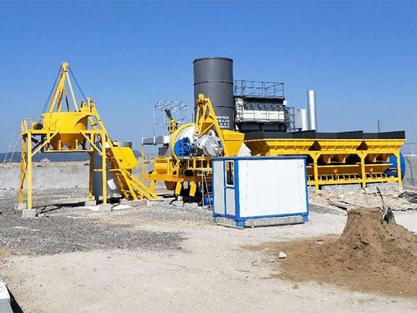 Мобильный асфальтный завод серии ALYJ