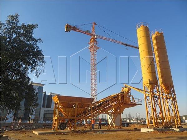 мобильный бетонный завод купить