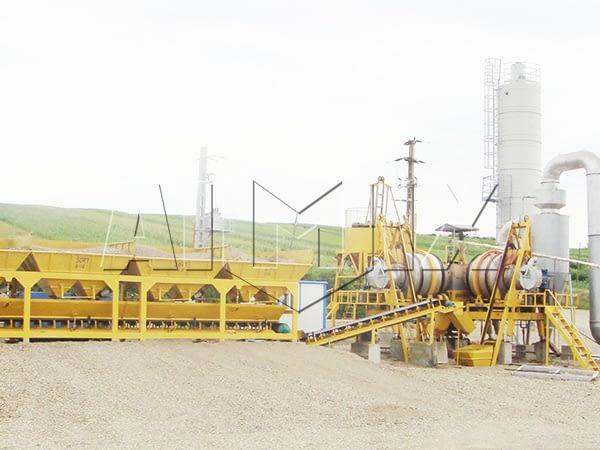 Высокий и качественный мобильный асфальтовый завод