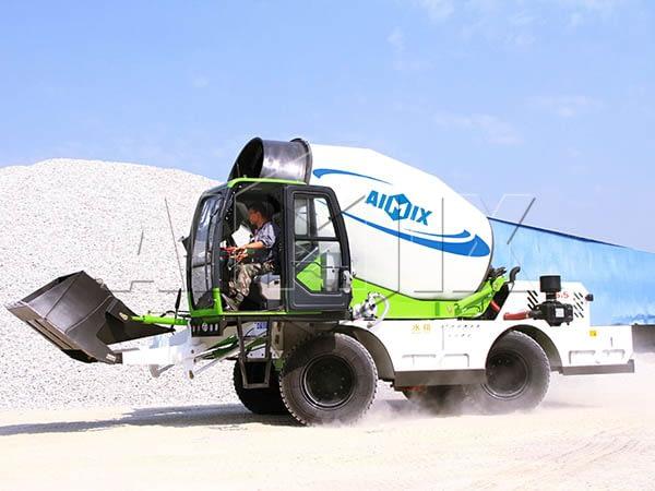 Самозагружаемый бетоносмеситель 6.5 м3