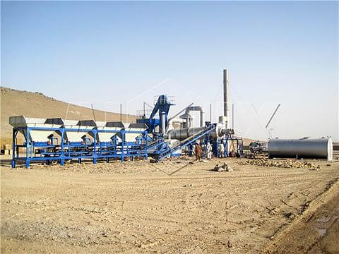 Мобильный асфальтовый завод AIMIX