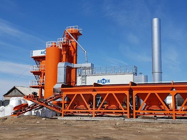 Асфальтный завод в России