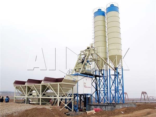 Стационарный бетонный узел 75 м3/ч