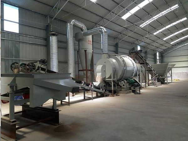 Оборудование для производства сухих строительных смесей 15 тонн в час