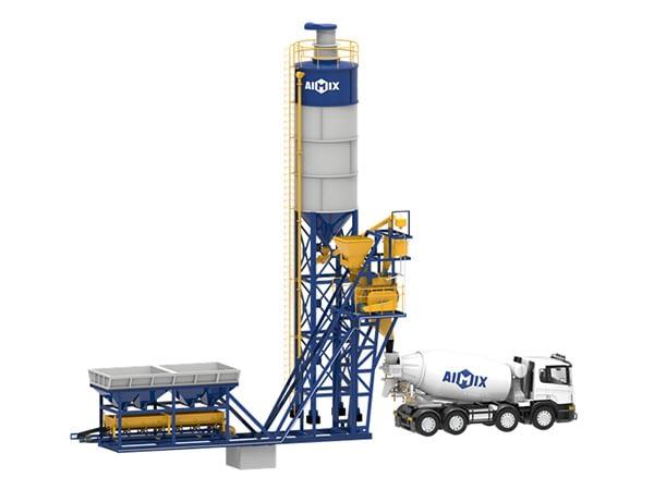 Компактный бетонный завод серии AJM