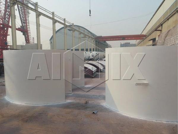 Силос цемента с объемом 100 тонн