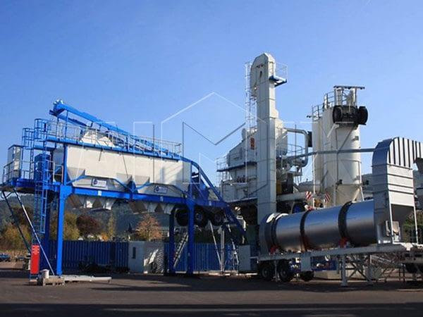 QLBY-30 мобильный асфальтный завод цена
