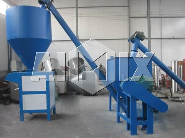 AIMIX линия для производства сухих строительных смесей