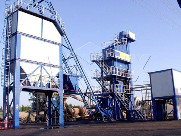 асфальтовый завод в Узбекистане