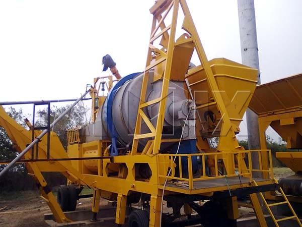 Мобильный мини асфальтный завод AIMIX
