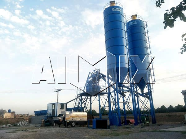 Стационарный бетонный завод 50 м3/ч