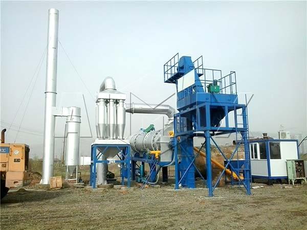 мини асфальтосмесительный завод