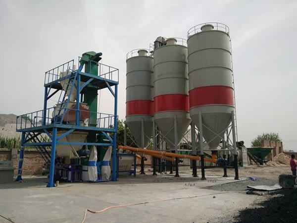 Купить оборудование для производства сухих строительных смесей