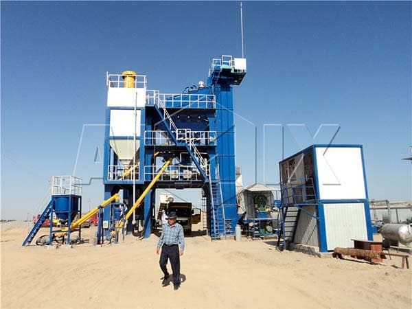 стационарный асфальтобетонный завод в Узбекистан