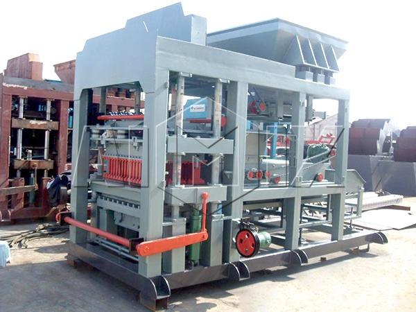 Автоматизированная линия по производству блоков