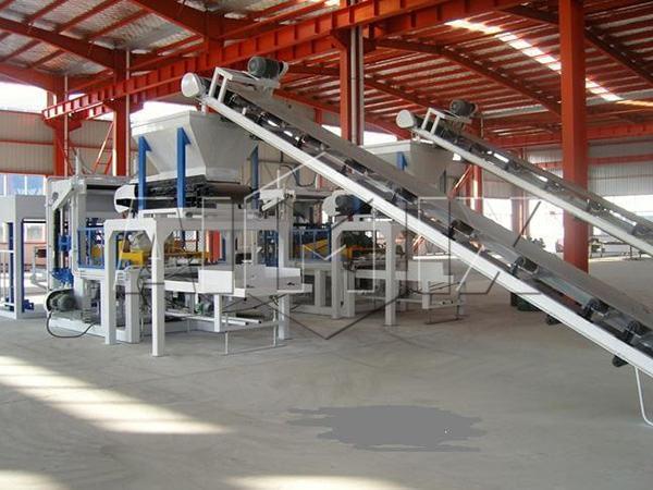 Китайское оборудование для производства кирпича