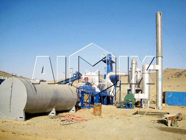 Мини асфальтовые заводы AIMIX