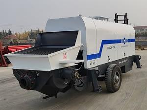 Россия: стационарный бетононасос дизельный
