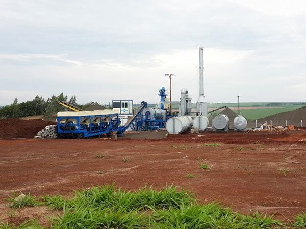 Мини асфальтный завод в Уругвай