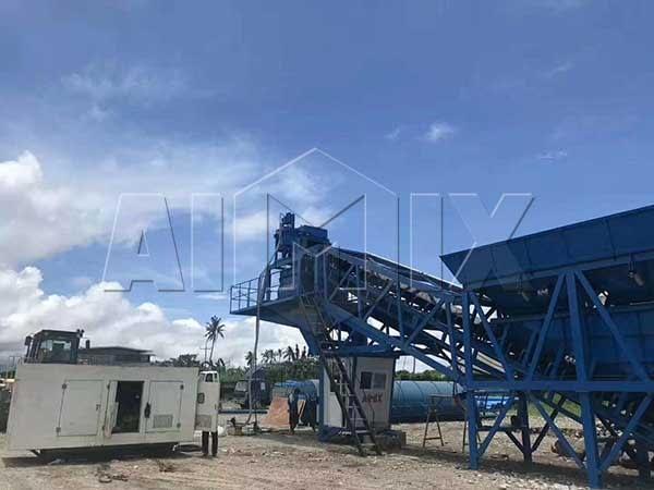 Мобильный бетонный завод китай