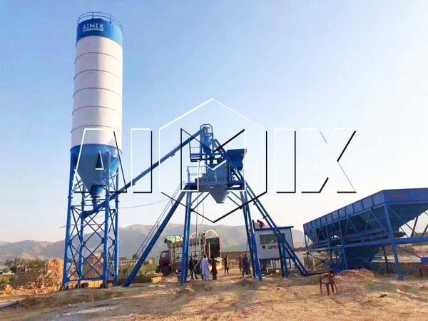 Мини бетонный завод 25 м3/ч