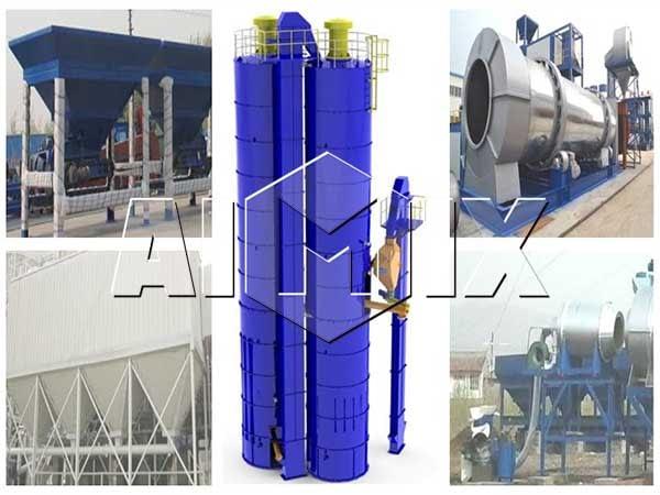 Структуры - стационарный асфальтный завод
