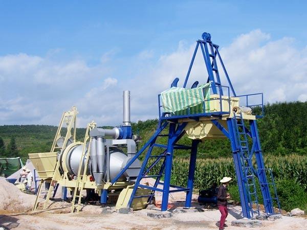 Мобильный асфальтный завод 20 тонн в час