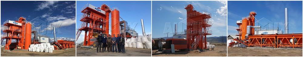 китайский асфальтовый завод в России