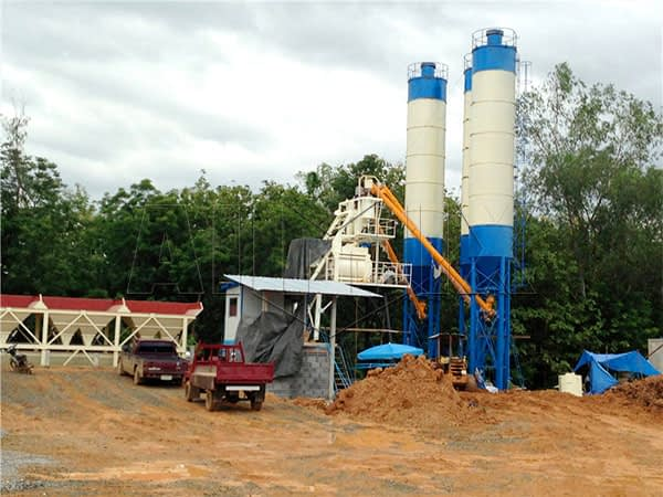 стационарные бетонные заводы