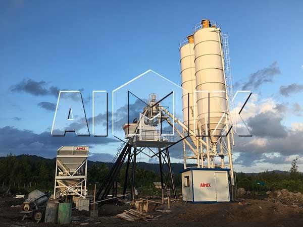 Бетонный завод 50 м3/ч на Филиппинах