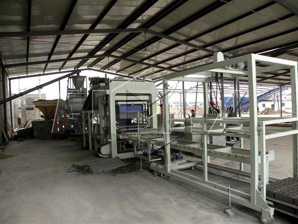 Автоматическая линия по производству блоков