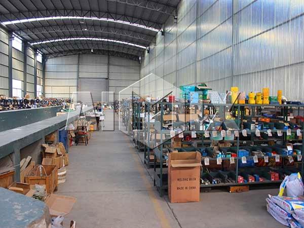 Полностью оборудованная фабрика в Китае