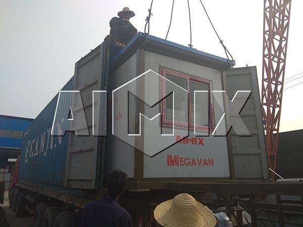 4 комплекта бетонной установки для экспорта в Узбекистане