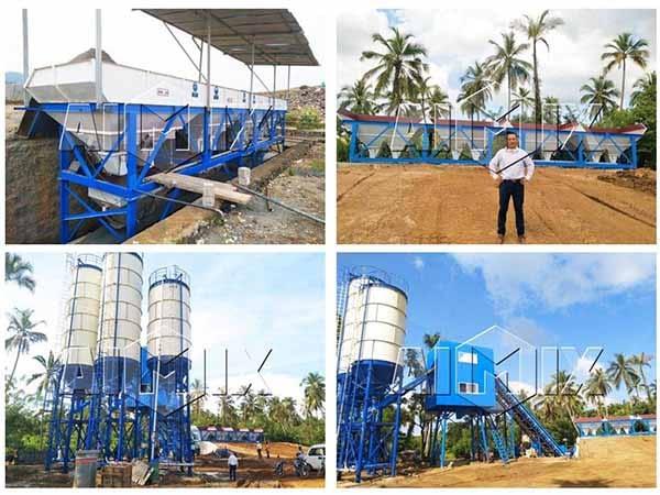 Бетонный завод 60 м3/ч на Шри-Ланке