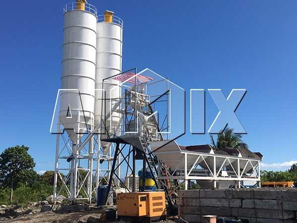 HZS50 бетонный завод