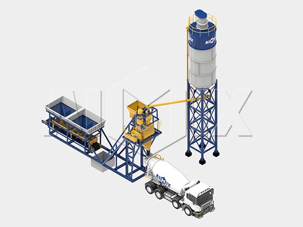 Компактный бетонный завод