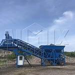 Передвижной бетонный завод